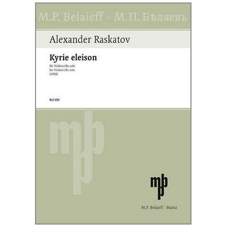Raskatov, A.: Kyrie eleison