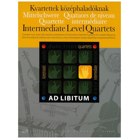 Ad Libitum – Mittelschwere Quartette