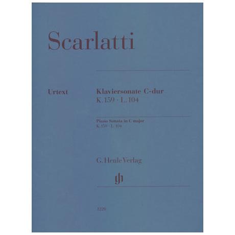 Scarlatti, D.: Klaviersonate C-Dur K.159