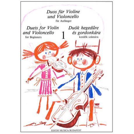 Pejtsik/ Vigh: Duos für Violine und Violoncello Band 1