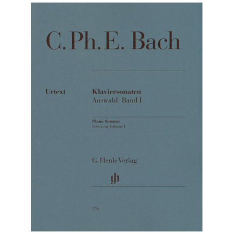 Bach, C. Ph. E.: Klaviersonaten Auswahl Band I