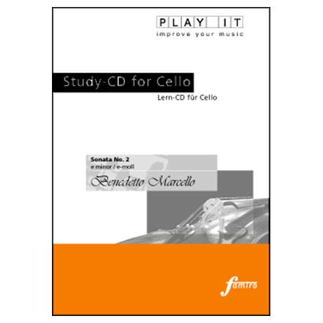 Marcello, Benedetto: Sonata No. 2 e-moll (nur CD)