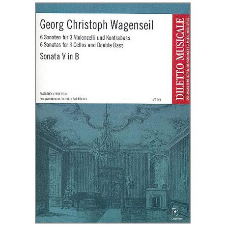 Wagenseil, G. C.: 6 Sonaten Band 5 Nr. 5 B-Dur