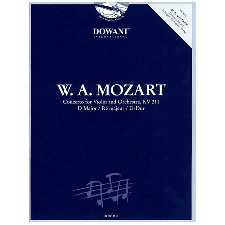 Mozart, W. A.: Violinkonzert Nr. 2 D-Dur KV 211 (+2 CDs)