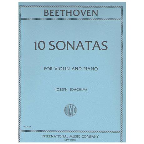 Beethoven, L.v.: 10 Sonatas (Joachim)