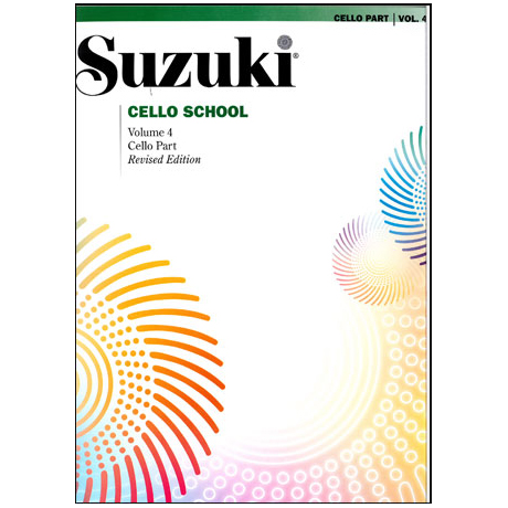 Suzuki Cello School Vol. 4