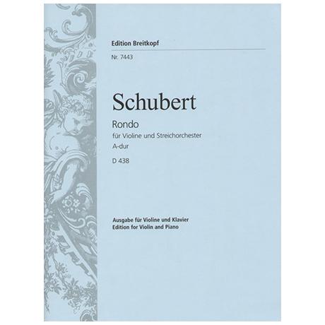 Schubert, F.: Rondo D 438 A-Dur