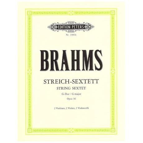 Brahms, J.: Streichsextett Nr. 2 G-Dur, op. 36