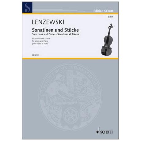 Lenzewski, G.: Violinsonatinen und Stücke Band 1