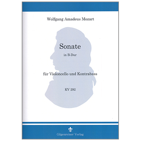 Mozart, W. A.: Kontrabasssonate nach KV292 B-Dur