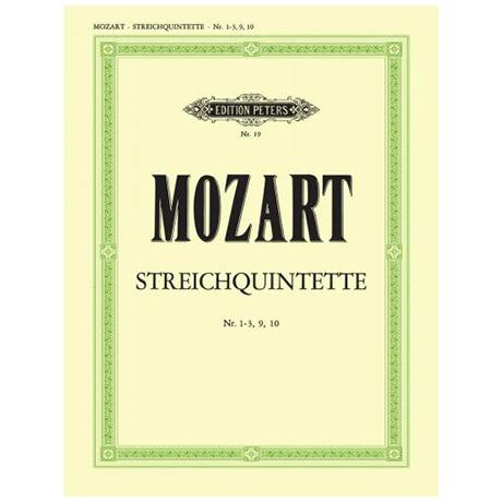 Mozart, W. A.: Streichquintette Band 2 KV 46, 174, 407, 581, Anh. 179