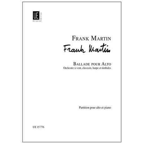 Martin, Frank: Ballade