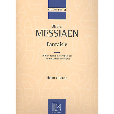 Messian, O.: Fantasie