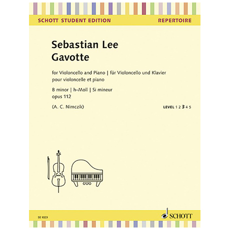 Lee, S.: Gavotte Op. 112