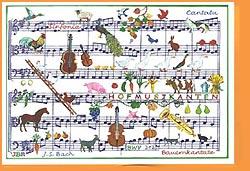 Kunstkarte Bauernkantate