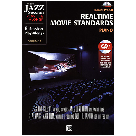 Realtime Movie Standards (+CD)