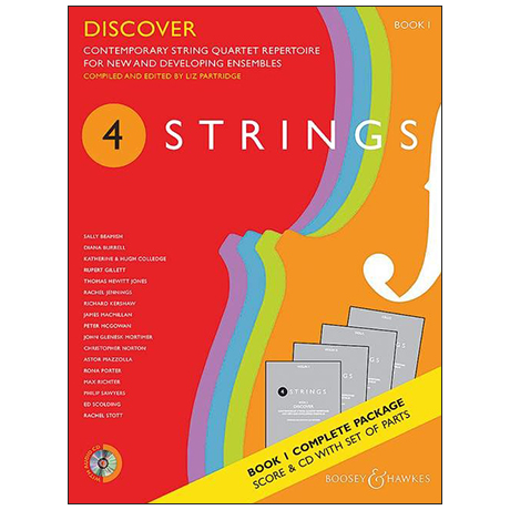 4 Strings: Discover – Set (+CD)