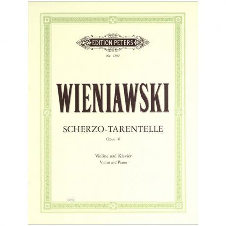 Wieniawski, H.: Scherzo-Tarantelle Op. 16 (Marteau)