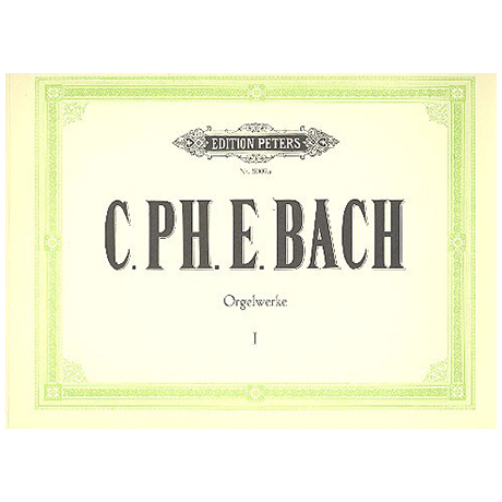 Bach, C. Ph. E.: 6 Sonaten Wq 70/1-6 (Fedtke)