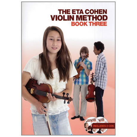 The Eta Cohen Violin Method Book 3 (+2CDs)