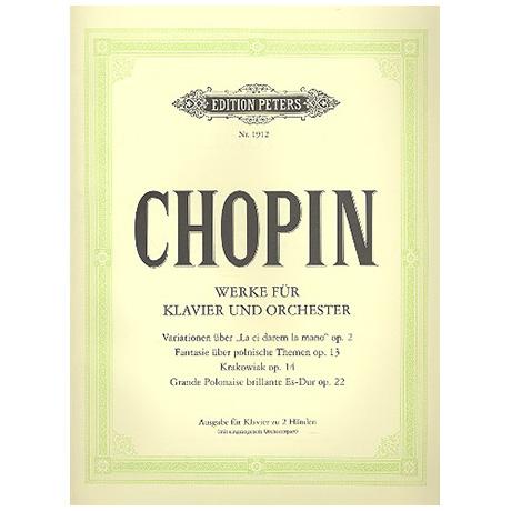 Chopin, F.: Werke für Klavier und Orchester
