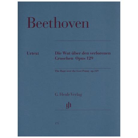 Beethoven, L. v.: Die Wut über den verlorenen Groschen G-Dur Op. 129