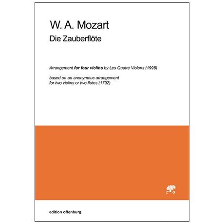 Mozart, W. A.: 9 Arien aus »Die Zauberflöte«