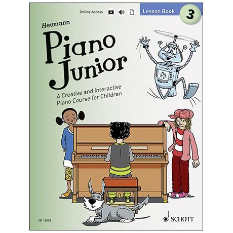 Heumann, H.-G.: Piano Junior – Lesson Book 3 (+ Online Audio)