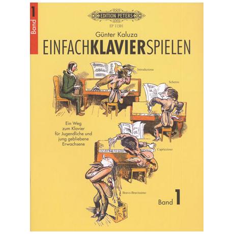 Kaluza, G.: Einfach Klavier spielen Band 1