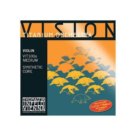 THOMASTIK Vision Titanium Orchester Violinsaite E