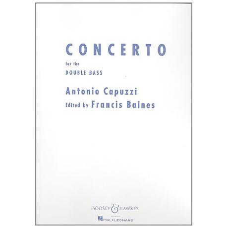 Capuzzi, G.A.: Concerto F-Dur