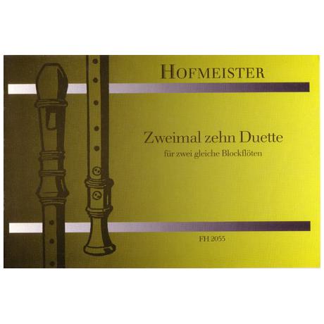 Wohlgemuth, G.: Zweimal 10 Duette
