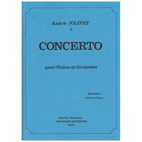 Jolivet, A.: Violinkonzert