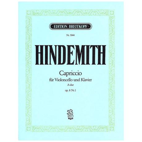 Hindemith, P.: Capriccio Op. 8/1 A-Dur