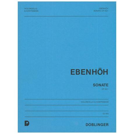 Ebenhöh, H.: Sonate Op.55 Nr.1