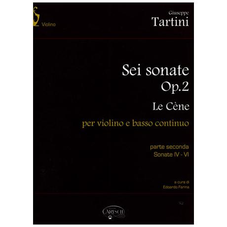 Tartini, G.: 6 Violinsonaten Op. 2 Band 2 IV-VI