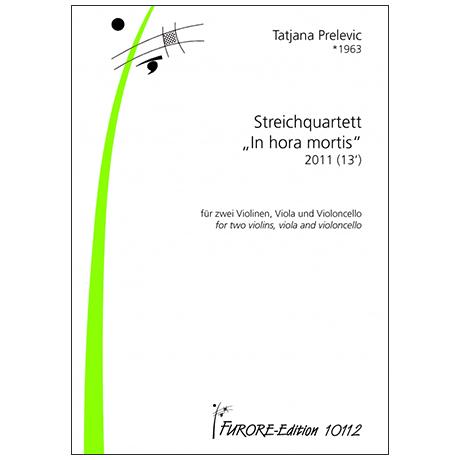 Prelévic, T.: Streichquartett »Mors certa, hora incerta« (2011/2016)
