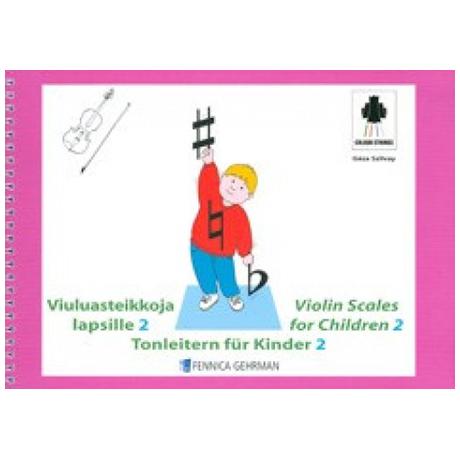 Szilvay, G.: Colourstrings Tonleitern für Kinder Band 2