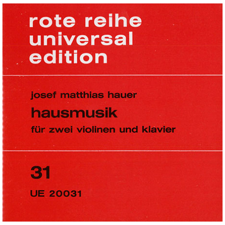 Hauer, J.M.: Hausmusik