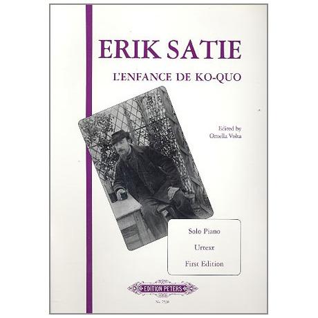 Satie, E.: L´Enfance de Ko-Quo