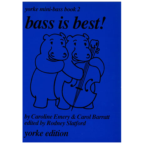 Yorke Mini-Bass Book 2: Bass is best