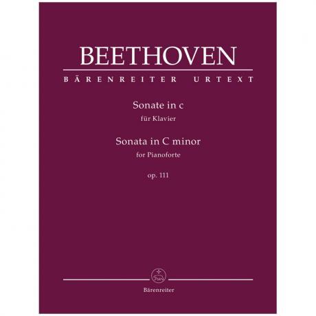 Beethoven, L. v.: Klaviersonate Op. 111 c-Moll