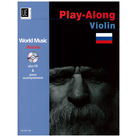 World Music Play Along Violin: Russia (+CD)