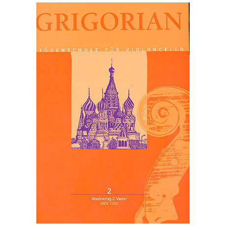 Grigorian, L.: Etüdenschule für Violoncello Band 2