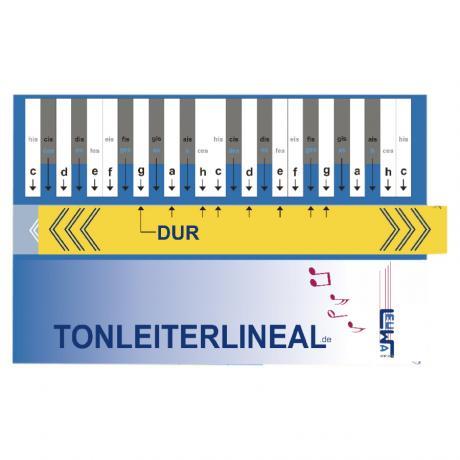 Tonleiter-Lineal