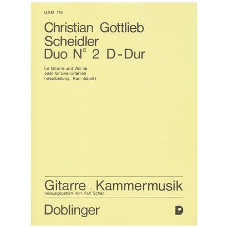 Scheidler, C.G.: Duo Nr.2 D-dur