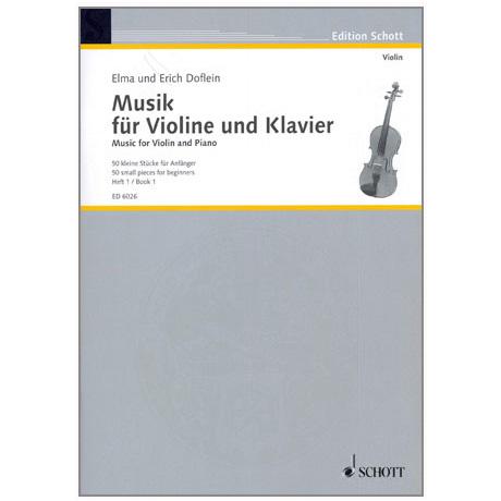 Musik für Violine und Klavier - Band 1