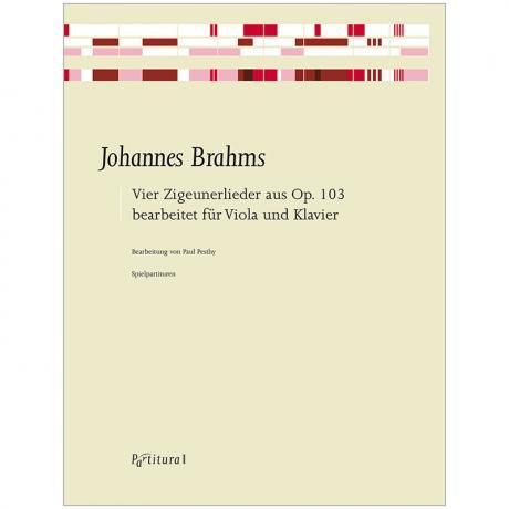 Brahms, J.: 4 Zigeunerlieder aus Op. 103