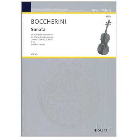 Boccherini, L.: Violasonata c-Moll G18