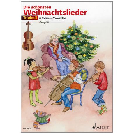 Magolt, H. & M.: Die schönsten Weihnachtslieder – Trioheft